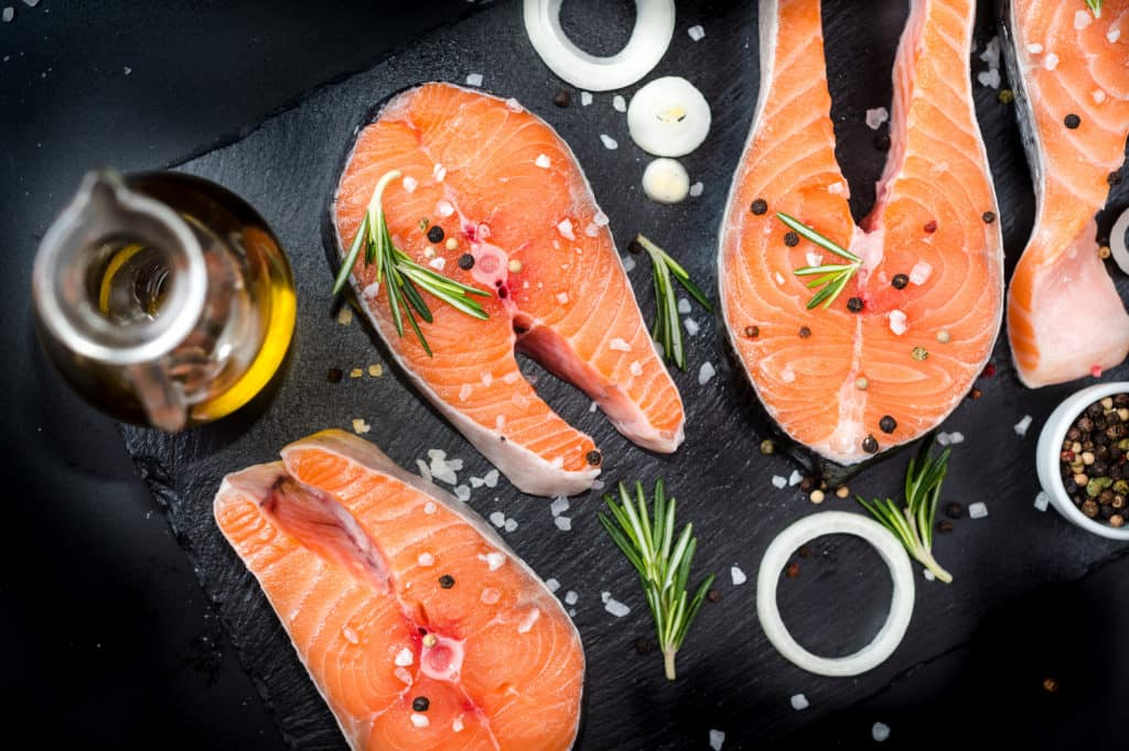 Anti Inflammatory Omega 3s from Fatty Fish