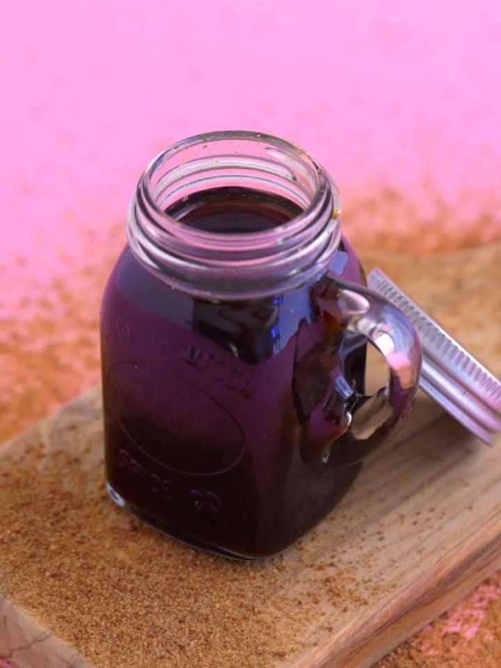 Coconut Sugar Simple Syrup