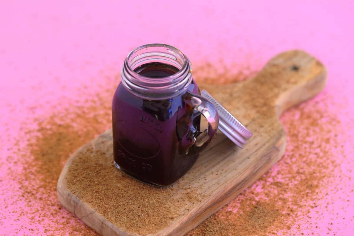 Coconut Sugar Simple Syrup