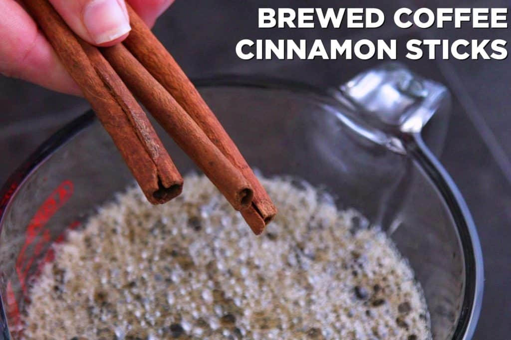 How to make cinnamon coffee ice cubes