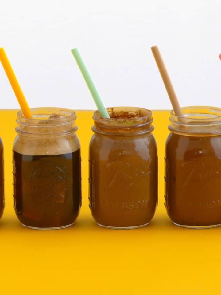 Healthy Iced Coffee Drinks