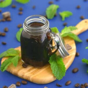Homemade Mint Simple Syrup