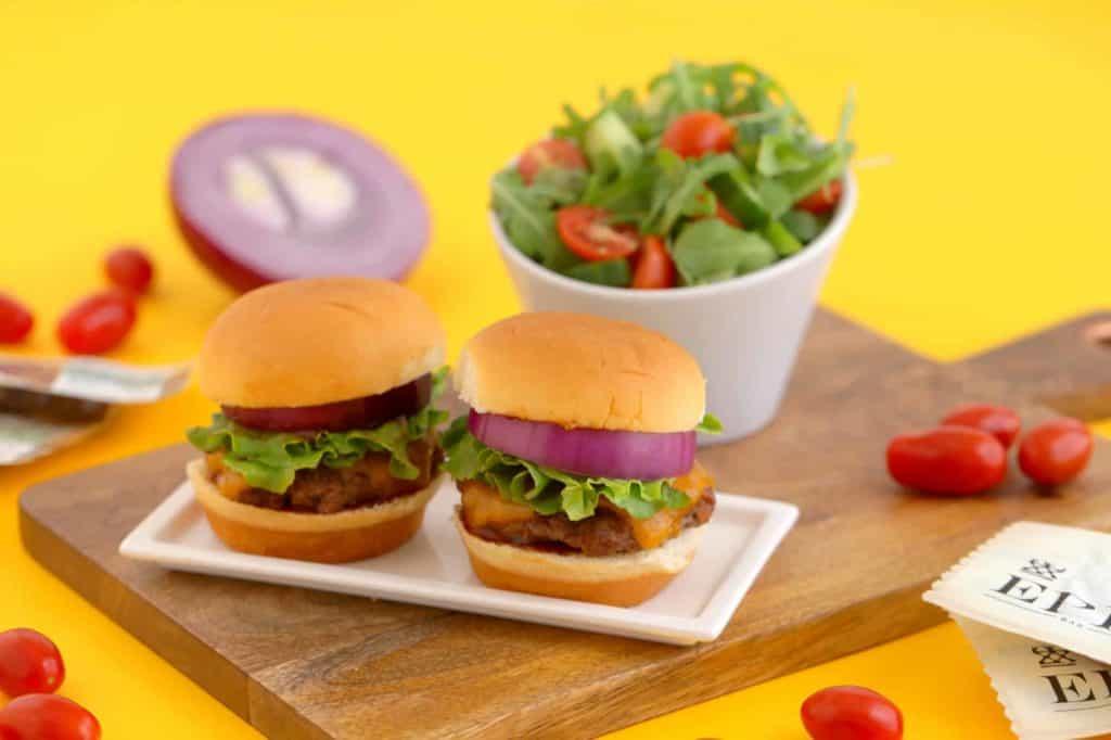 Hawaiian Roll Burger Sliders