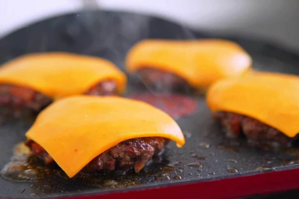 Spicy BBQ Cheeseburger Sliders Recipe