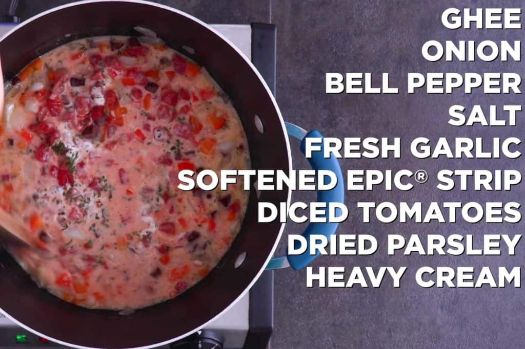 Add all easy meat sauce ingredients into pot