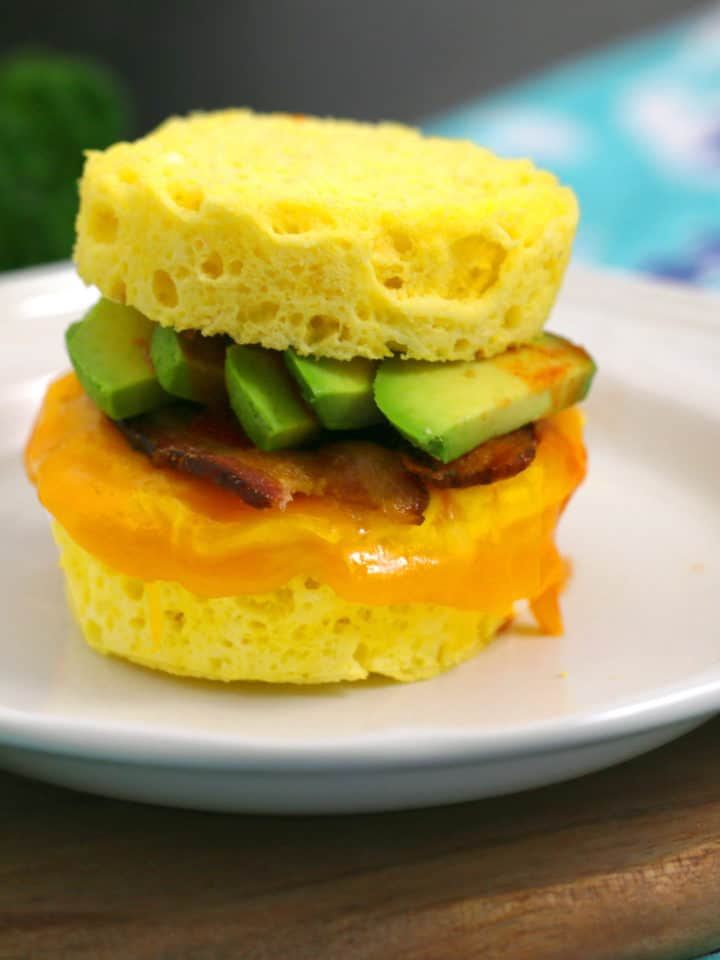 Keto Biscuit Breakfast Sandwich
