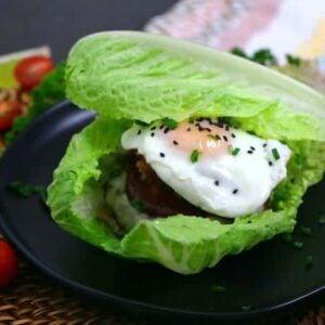 Keto Breakfast Burger