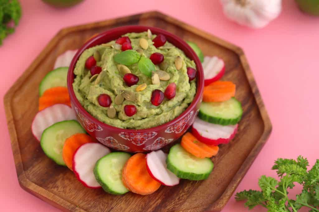 Green Goddess Hummus Recipe