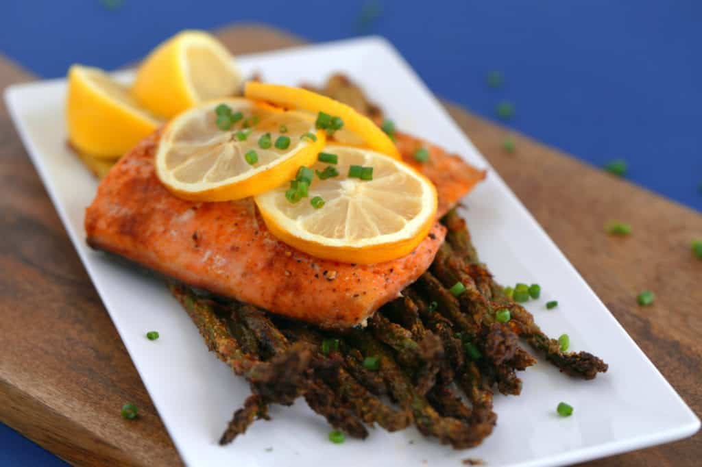 Lemon Pepper Paprika Salmon