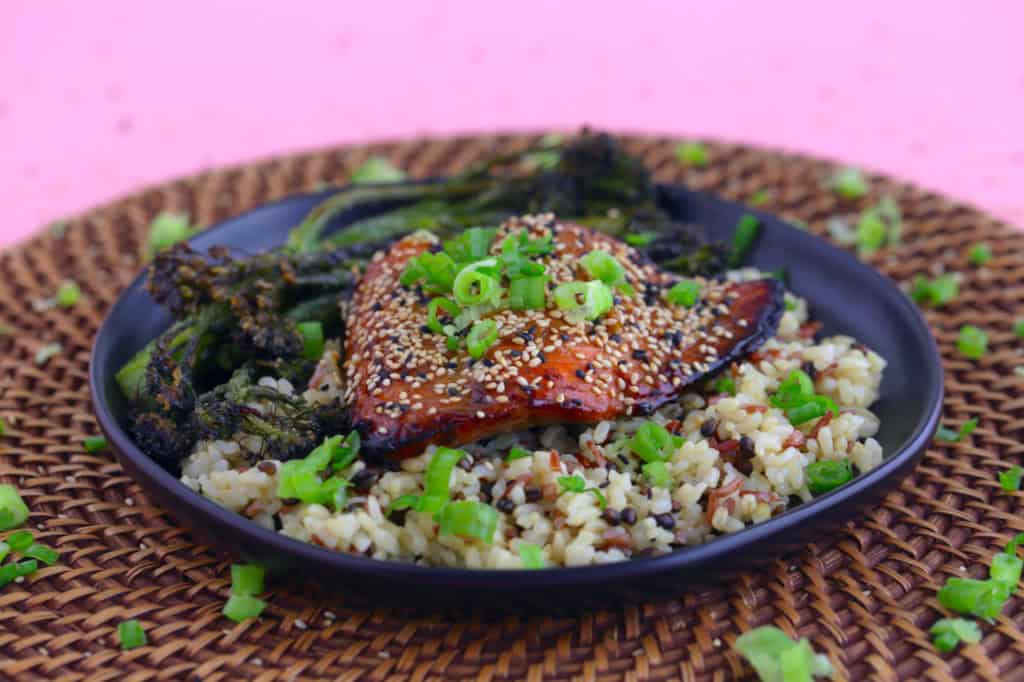 Honey Soy Ginger Salmon