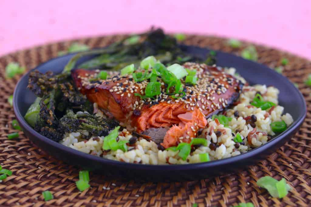 Asian Salmon in Air Fryer
