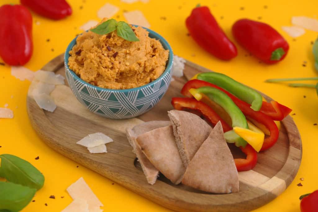 Pizza Hummus Recipe