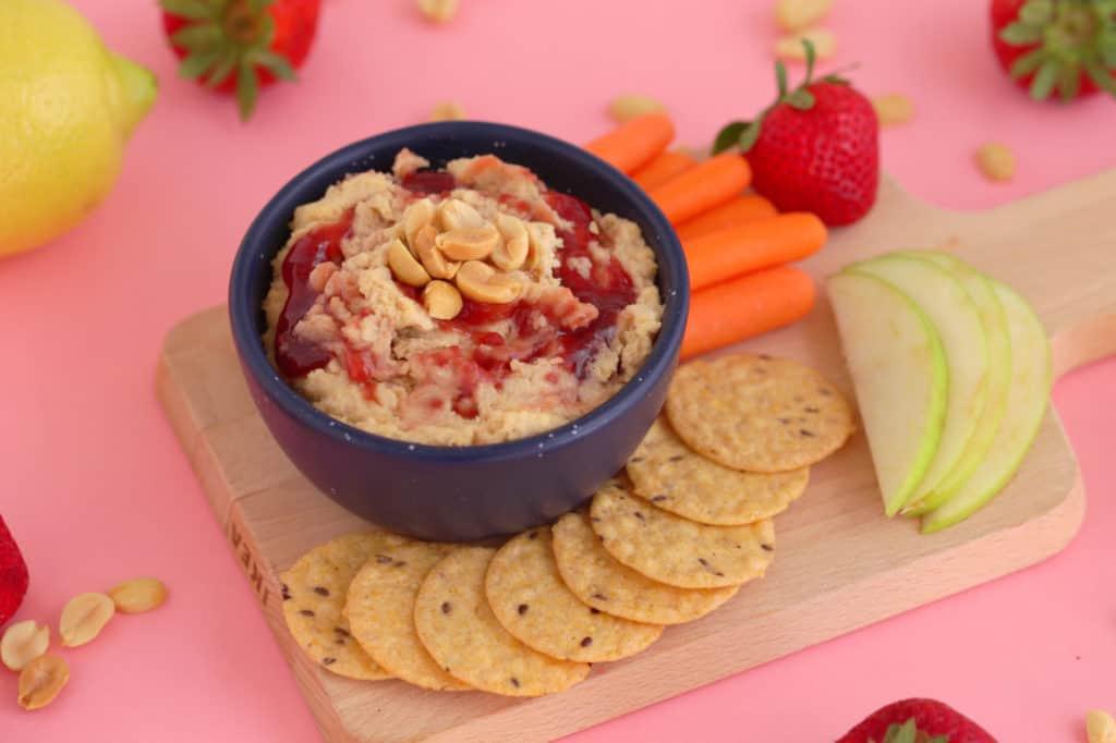PB&J Hummus Recipe