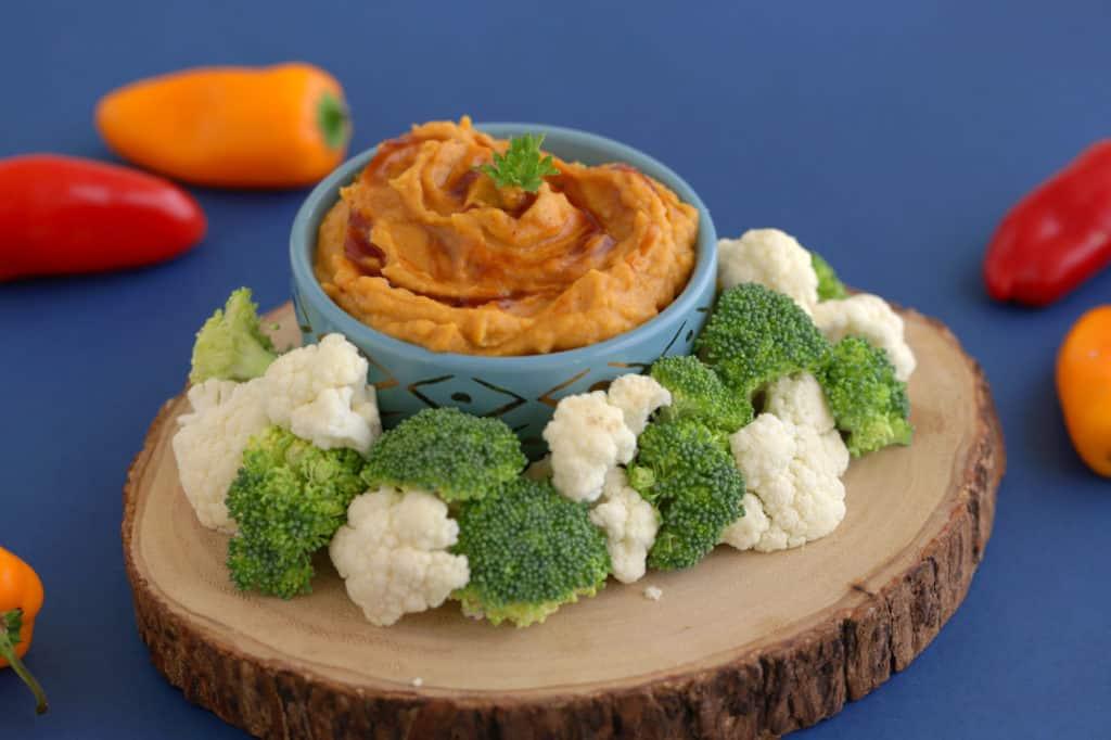 BBQ Sweet Potato Hummus