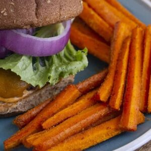 Baked Carrot Fries