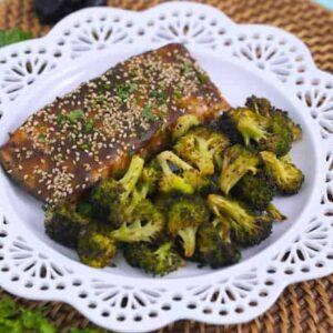 Balsamic Glazed Salmon Recipe