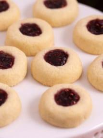 Classic Thumbprint Cookies