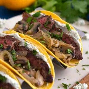 Flat Iron Steak Tacos Recipe