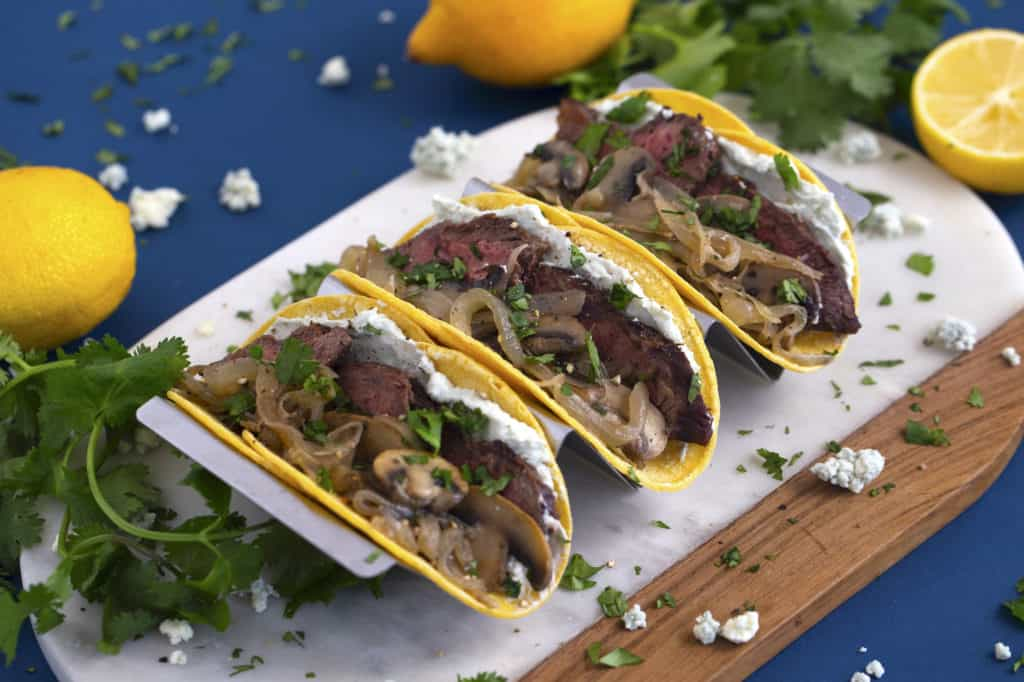 Healthy Steak Tacos