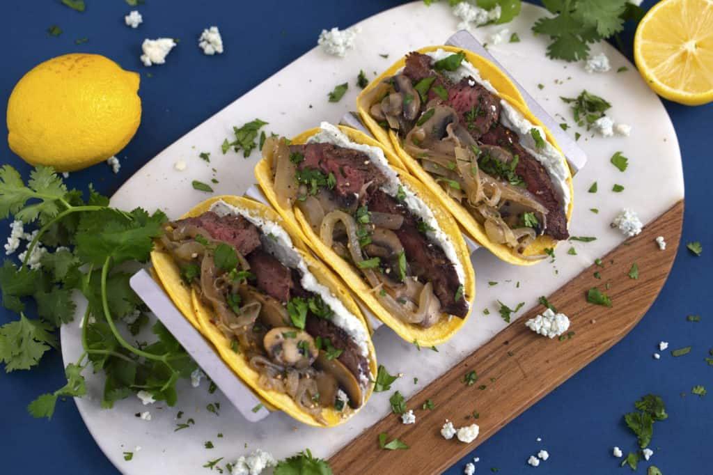 Flat Iron Steak Tacos Recipe