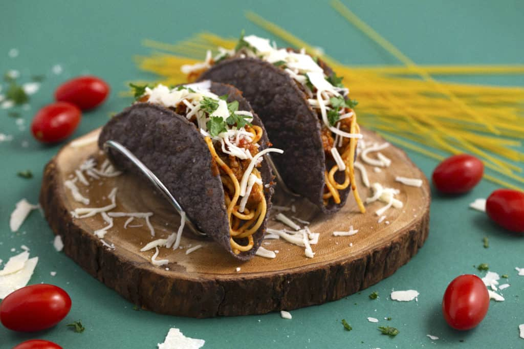 Easy Spaghetti Tacos Recipe Mind Over Munch