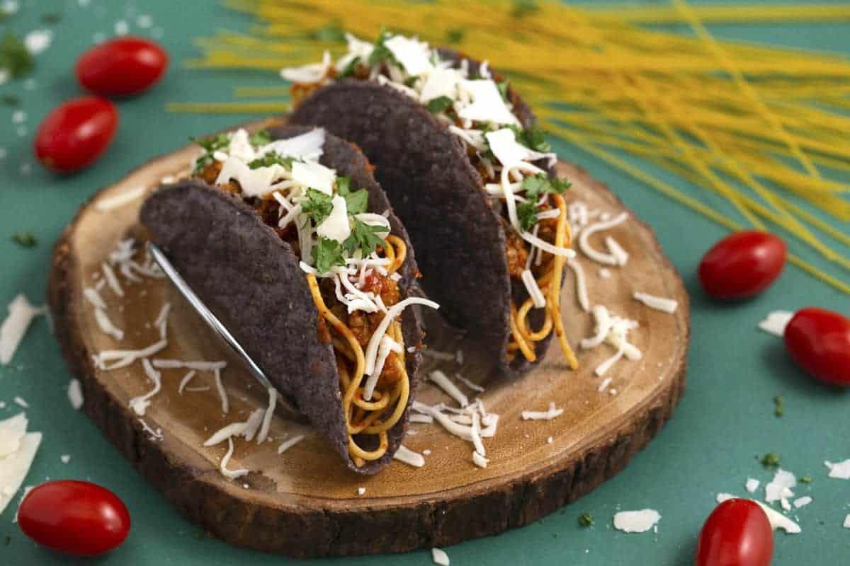 Spaghetti Tacos Recipe