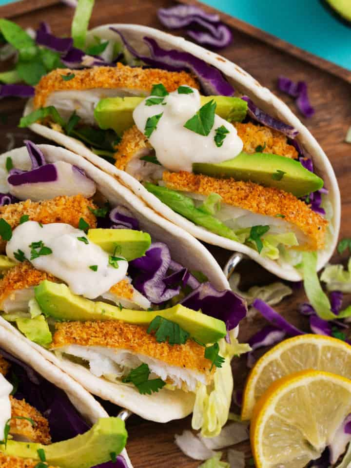 Air Fryer Fish Tacos