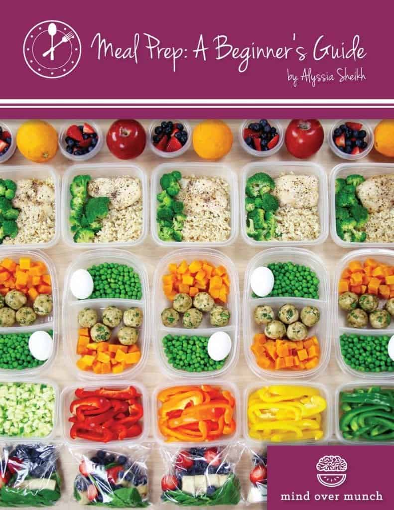 "Cover of the Mind Over Munch ebook ""Meal Prep: A Beginner's guide"""