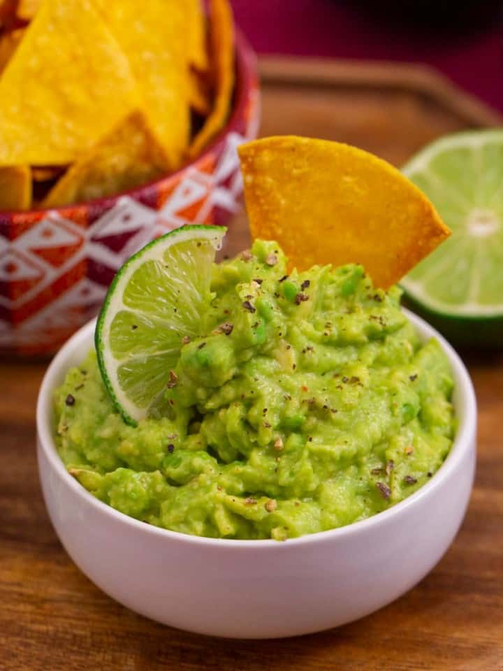 4 Ingredient Guacamole Recipe