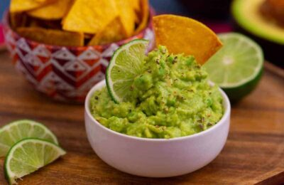 Mild guacamole recipe