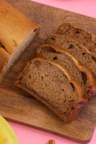 Easy 5 Ingredient Banana Bread