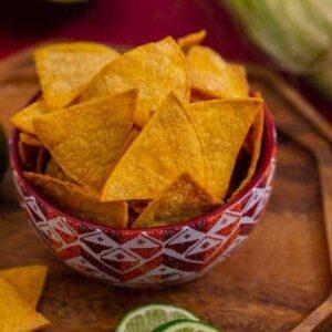 Air Fryer Tortilla Chips Recipe