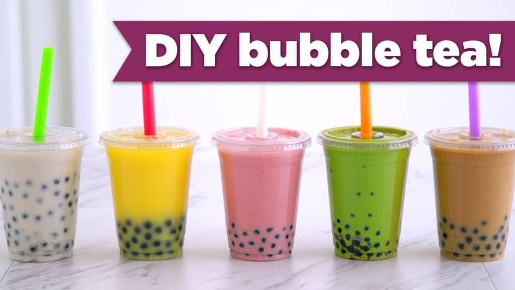 5 Healthy Boba Tea Recipes