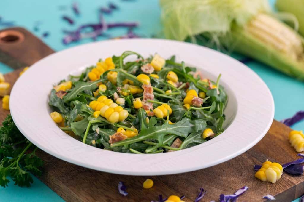 Corn and Arugula Salad Recipe