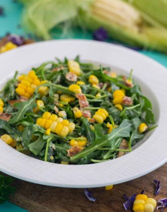 Corn Arugula Salad Recipe