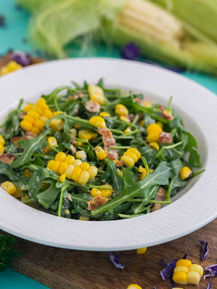 Corn Arugula Salad Recipe