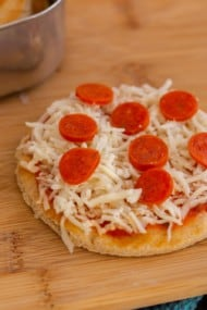 Homemade Pizza Lunchables Recipe
