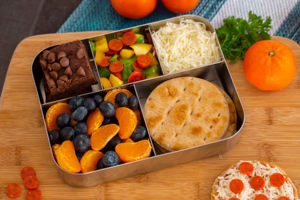 DIY Pizza Lunchables for Kids