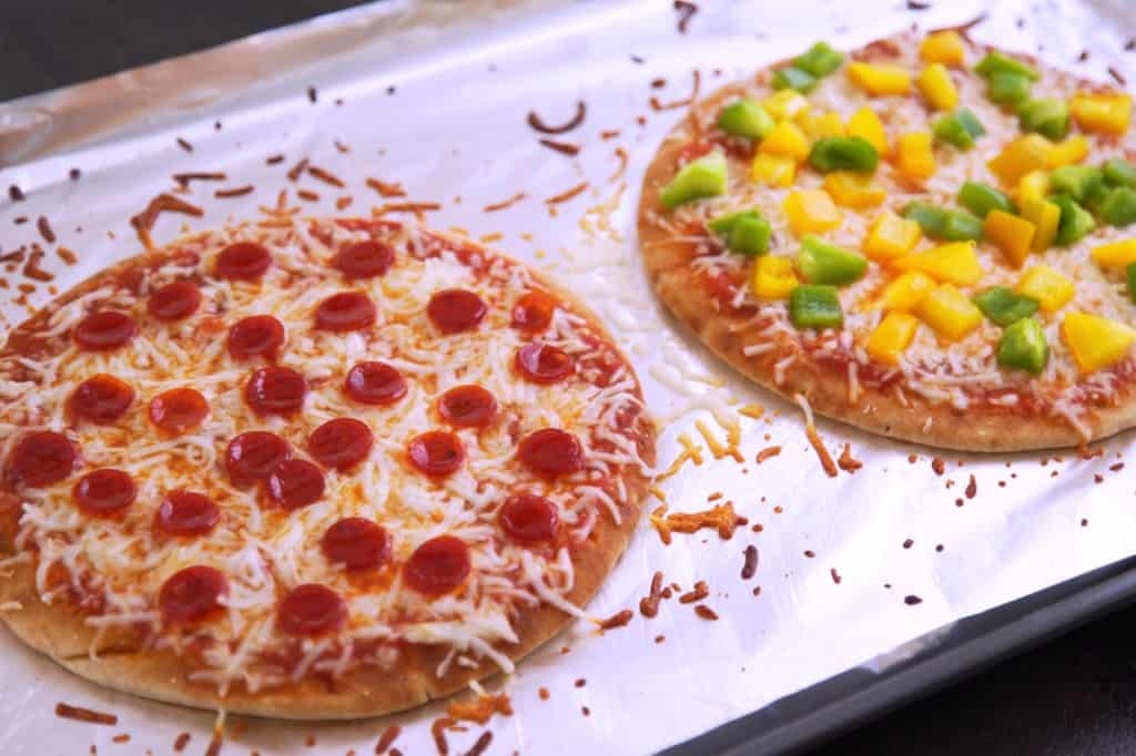 Can you cook pizza lunchables in the oven