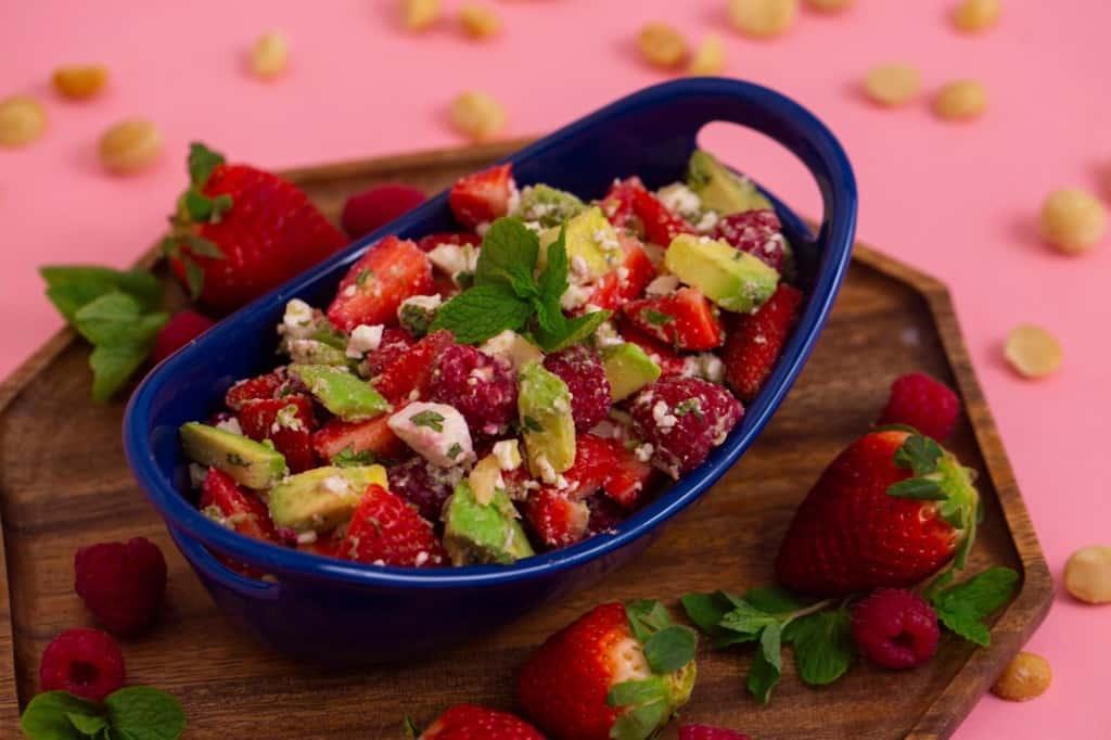 Keto Berry Salad