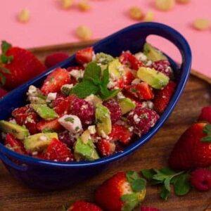 Keto Fruit Salad