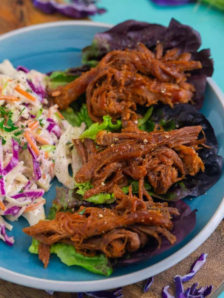 Whole30 BBQ Slow Cooker Pulled Pork Recipe
