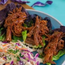 Whole30 BBQ Pulled Pork Dinner