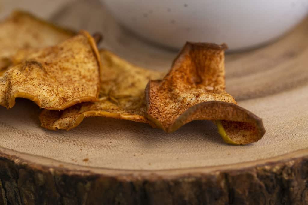 Air Fryer Cinnamon Apple Chips