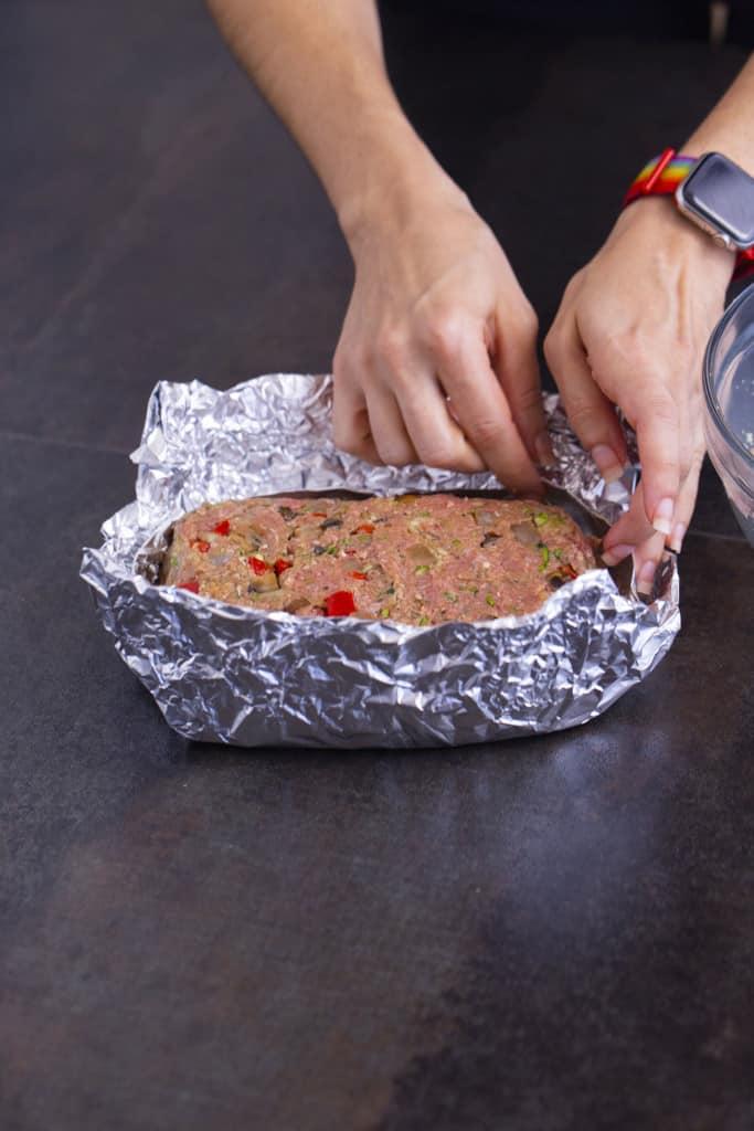 Air fried meatloaf