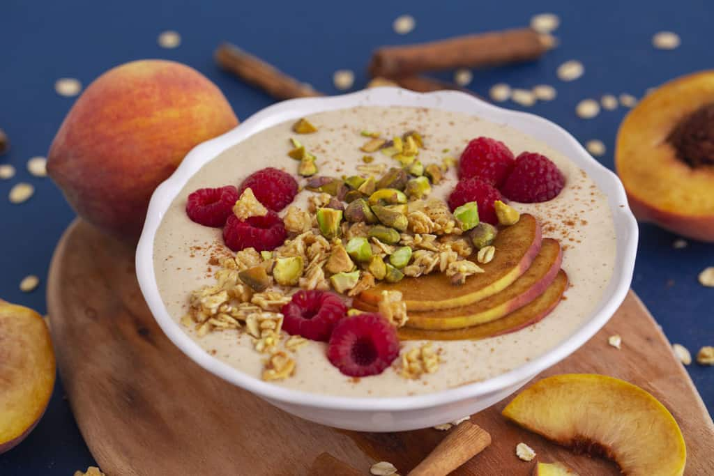 Peach Smoothie Bowl for Kids