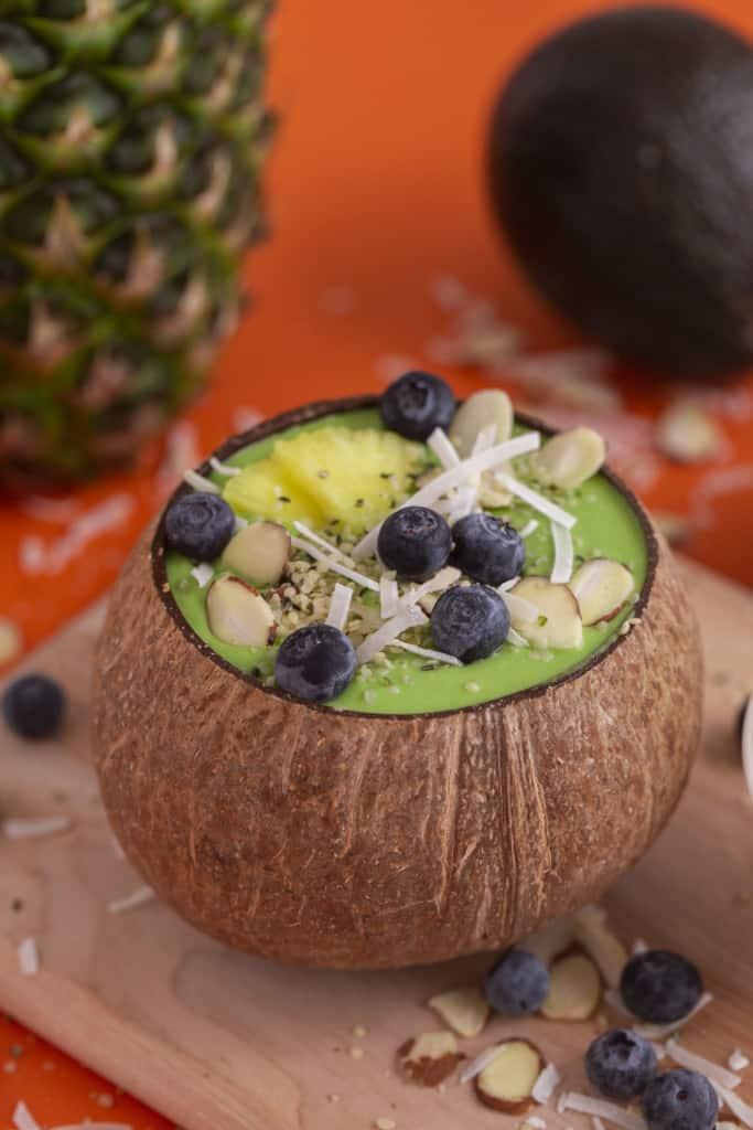 Green Smoothie Bowl for Kids