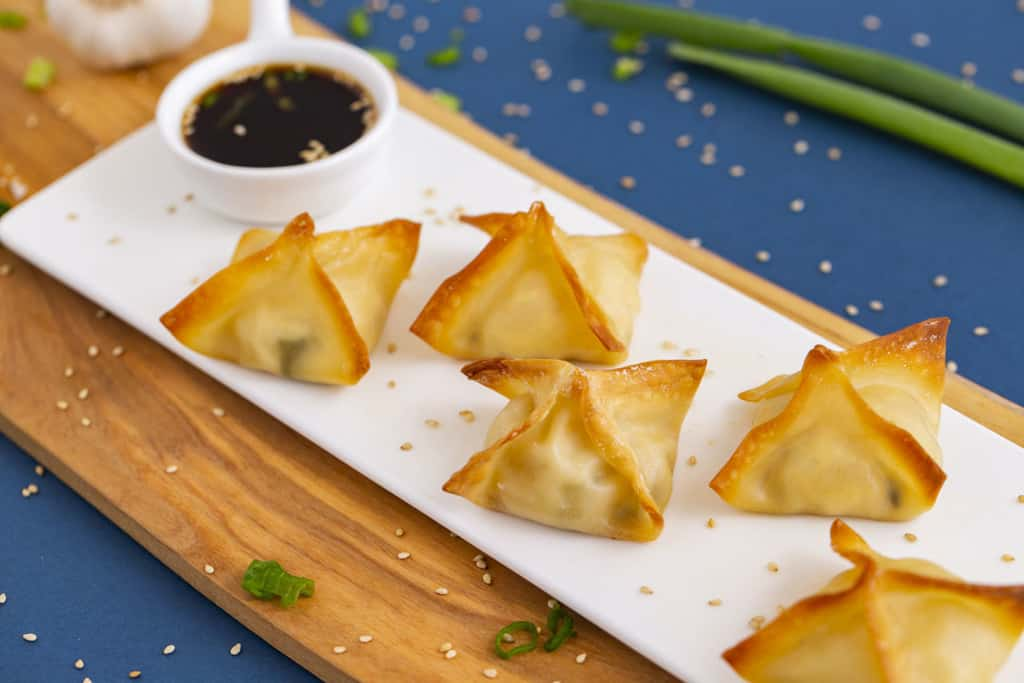 Baked Crab Rangoon in Oven