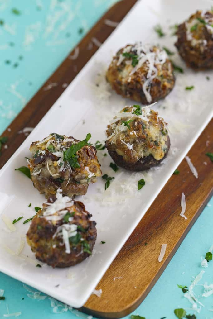 How to Make Stuffed Mushrooms in the Air Fryer or Oven