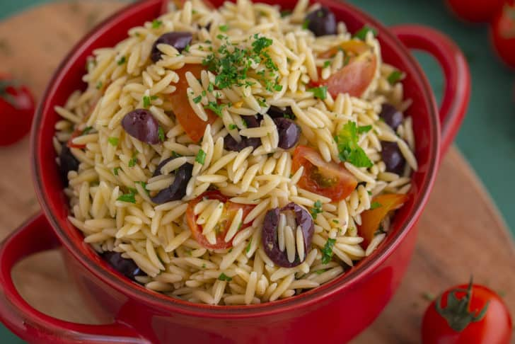How to Make Orzo Pasta Salad